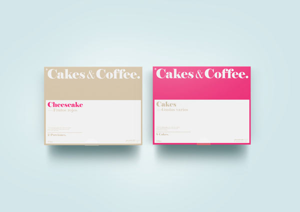 Cakes & Coffee Identity by Empatía ® Studio