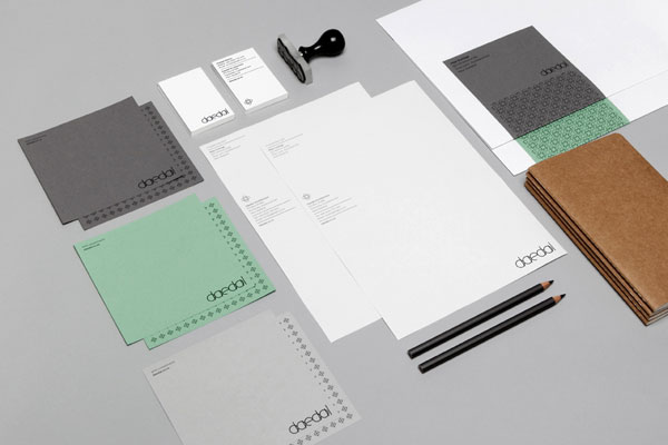 Daedal Architecture - Brand Identity by Mike Collinge