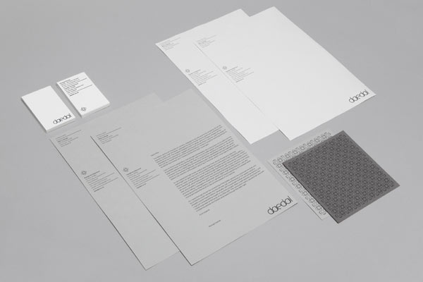 Daedal Architecture - Stationery Design by Mike Collinge