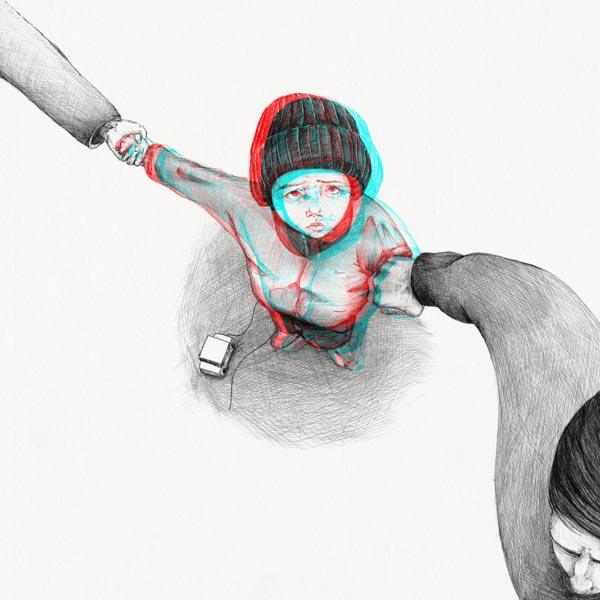 Divorce - Illustration by Slava Triptih