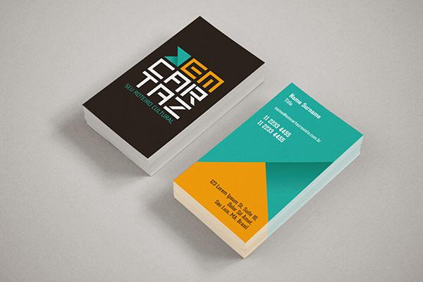Em Cartaz - Business Card Design by Kempeli Design e Comunicação
