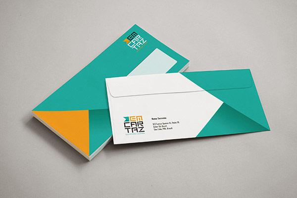 Em Cartaz - Envelopes by Kempeli Design e Comunicação