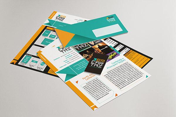 Em Cartaz - Printed Collateral by Kempeli Design e Comunicação