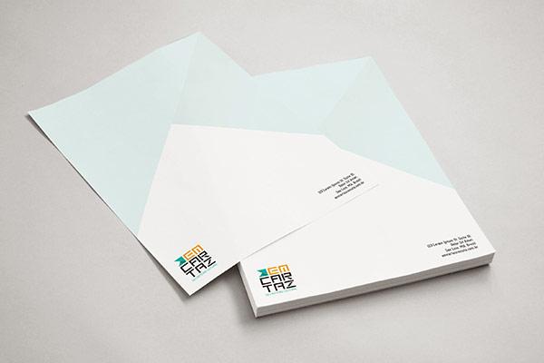 Em Cartaz - Stationery Design by Kempeli Design e Comunicação