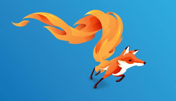 FireFox OS brand mascot - The Bolt by Martijn Rijven