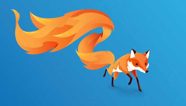 FireFox OS brand mascot - The Charge by Martijn Rijven