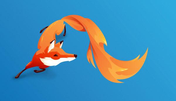 FireFox OS brand mascot - The Pivot by Martijn Rijven