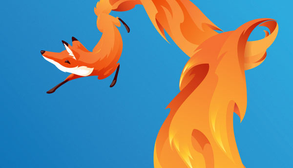 FireFox OS brand mascot - The Swoop by Martijn Rijven
