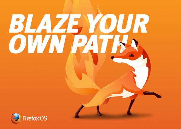 FireFox OS brand mascot artwork by Martijn Rijven