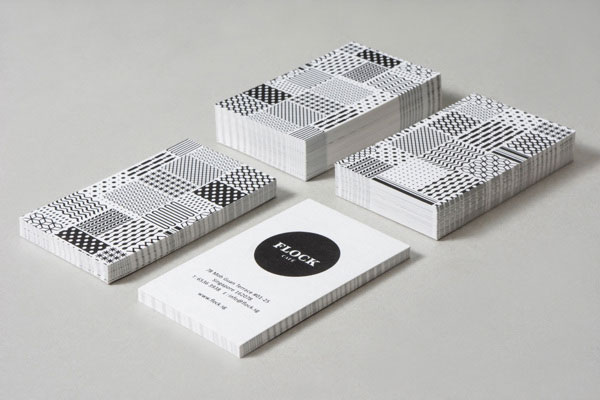 Flock Café - Stationery Design by Kilo Studio