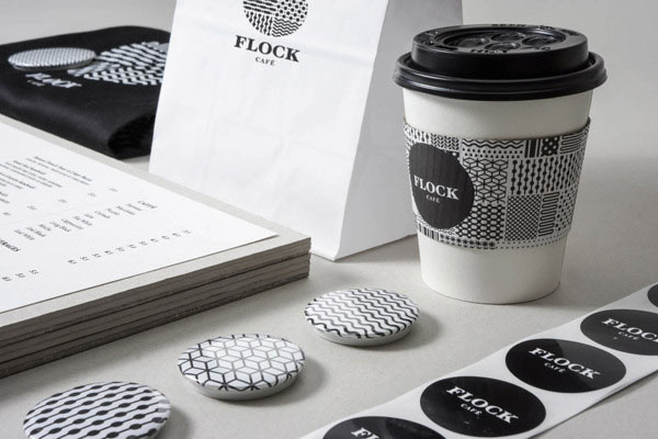 Flock Café - Visual Identity by Kilo Studio