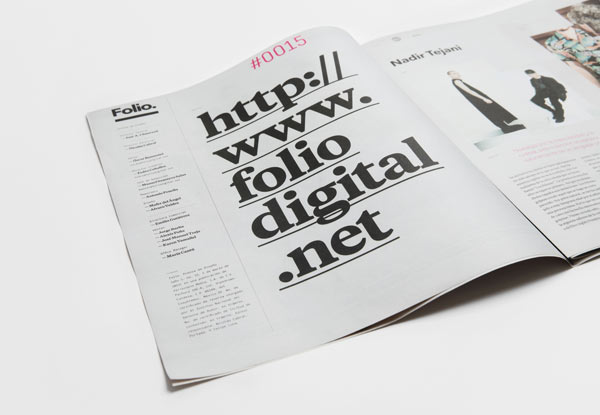 Folio. Design Journal