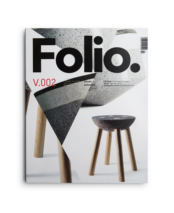 Folio. Magazine Cover Design by Face