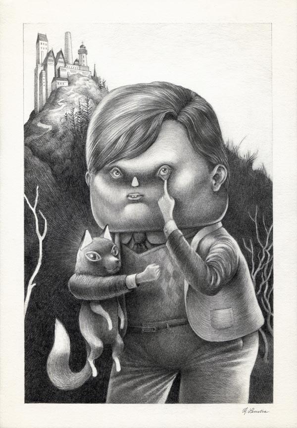 Creative Illustrations by Raymond Lemstra