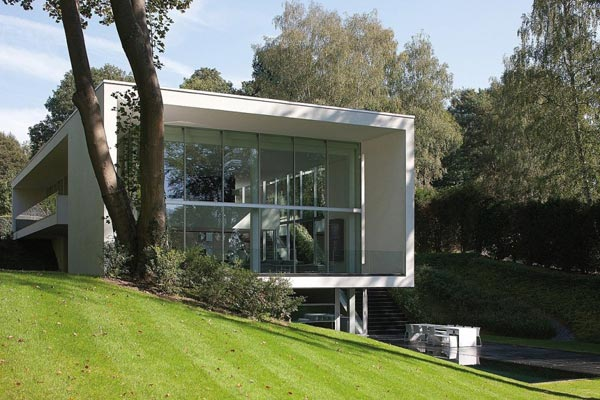 Modern Architecture The Genets 3 House In Belgium By Aabe