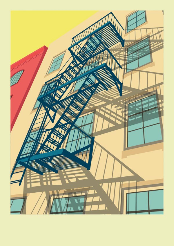 New York City Illustrations by Remko Heemskerk