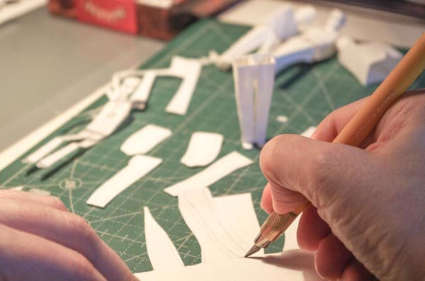 Fan the Flame – Paper Sculptures for Amnesty International by People Too