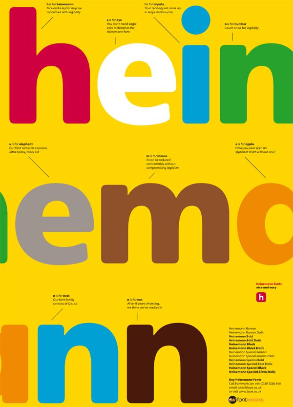 Heinemann Fonts