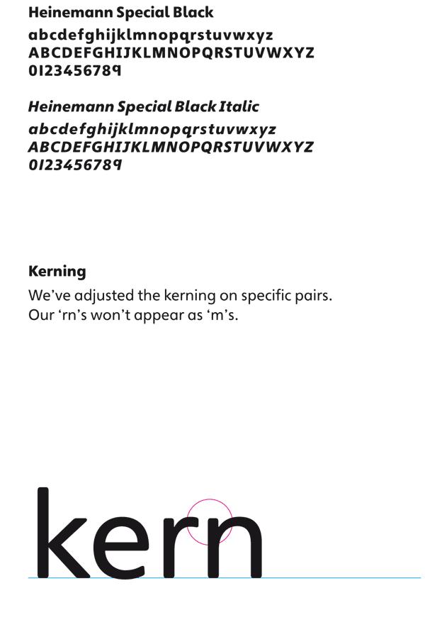 Heinemann Special Black Font