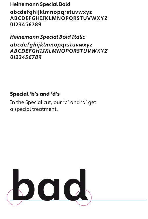 Heinemann Special Bold Font