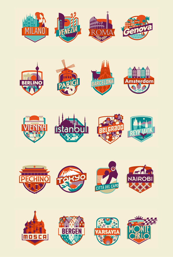 Have You Ever Been To – Poster Illustration by Federica Bonfanti