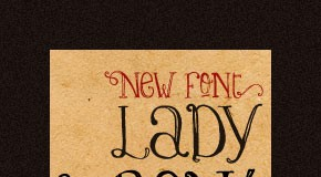Lady René - Artisitc Hand Dawn Typeface by Sudtipos