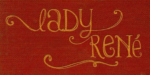 Lady René - Font by Sudtipos