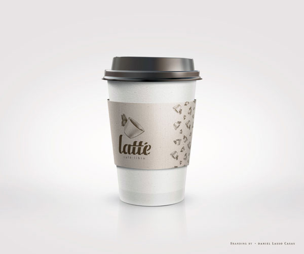 Latté Coffee Cup Design by Daniel Lasso Casas
