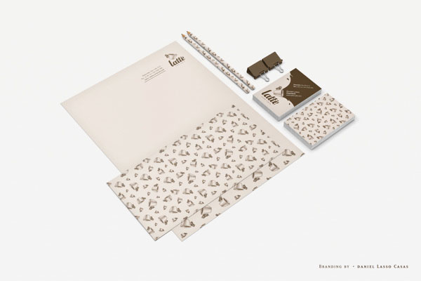 Latté Coffee Stationery by Daniel Lasso Casas