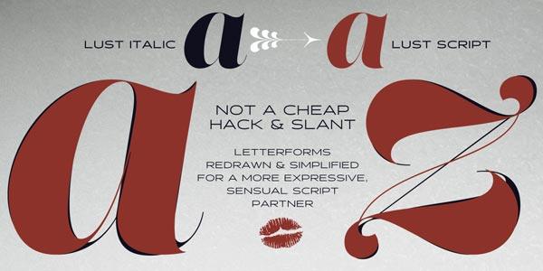Typography - Magazine cover