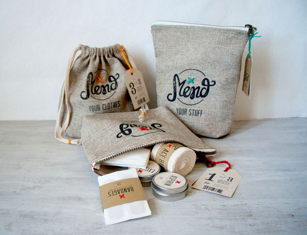 Mend Branding and Packaging Project by Katie Tonkovich