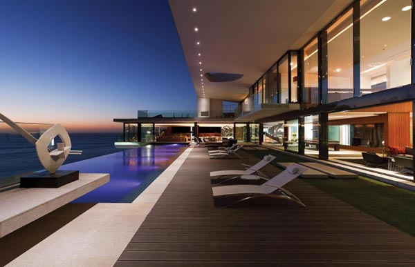 Modern Mansion With Perfect Interiors By Saota: Cliff House In Senegal By SAOTA