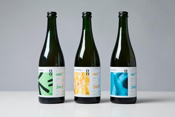 O/O Brewing - Bottles Identity Design by Lundgren+Lindqvist