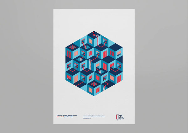 Wall Street English Campaign Posters By Luca Fontana And