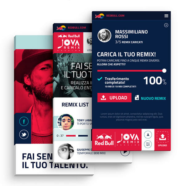 Red Bull Jova Remix Session - iPhone Version