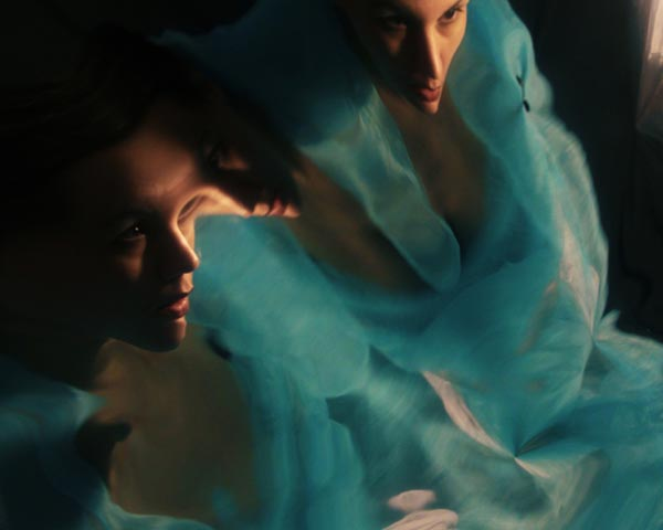 Sunset - Self Portrait in a Moving Mirror by Kalliope Amorphous