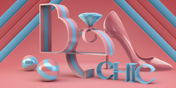 Très Très Chic - 3D objects