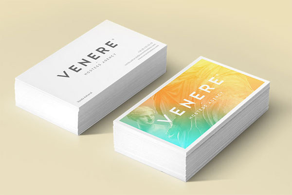 Venere® hostess agency - business Card Design by Attila Horvath