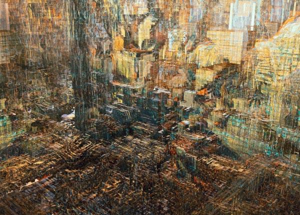 Wasteland – Digital Illustration Series by Atelier Olschinsky