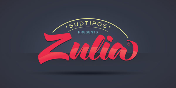 Zulia Pro Calligraphy Script Font by Sudtipos