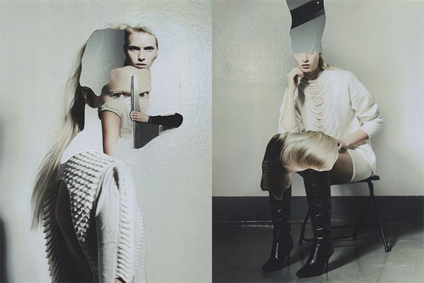 Editorial Photo Collages By Jesse Draxler For Creem Magazine