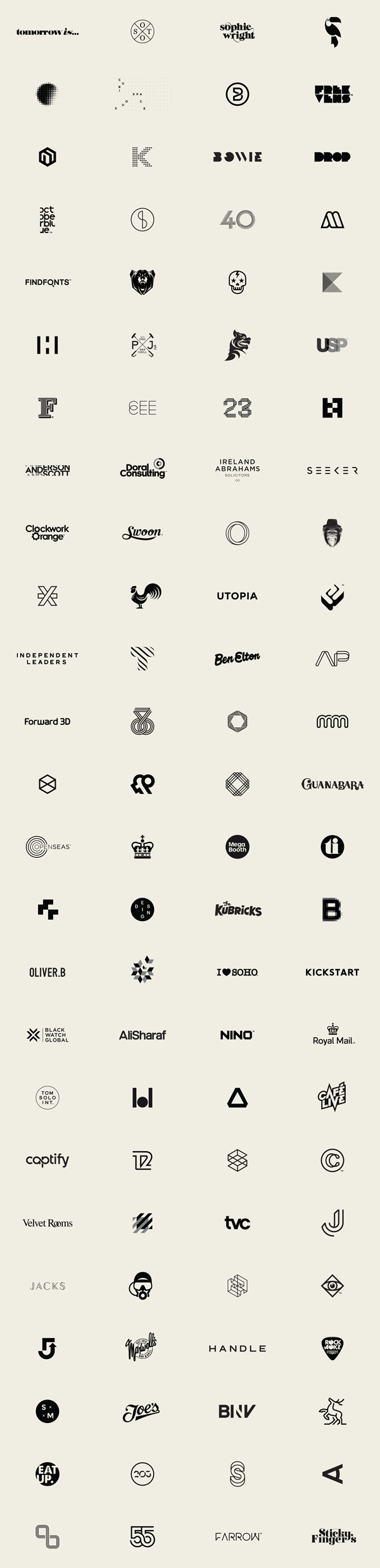 100 Logos by Mash Creative