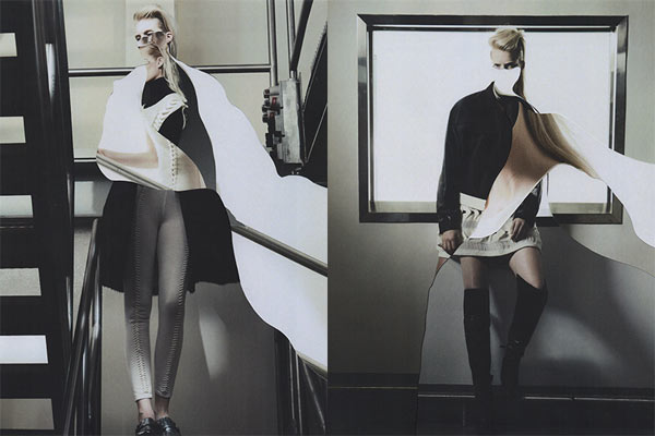 Editorial Photo Collage by Jesse Draxler for CREEM Magazine