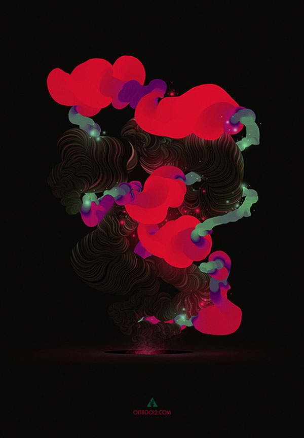 Abstract Digital Artwork by Bruno Borges
