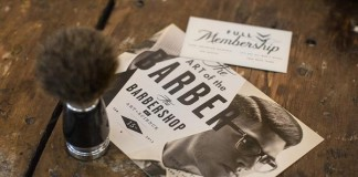 Art Science Barbershop Brand Design by Firebelly Design