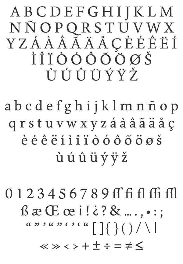 Born Typeface - Overview