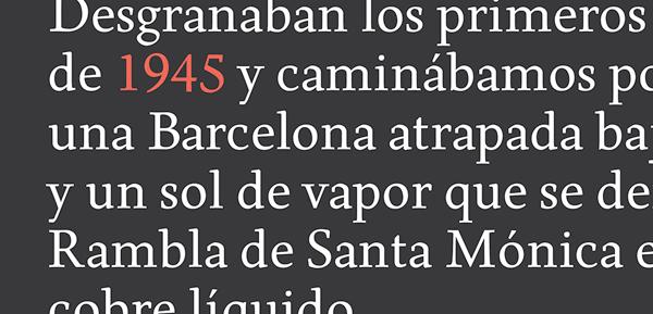 Born Typeface - Text Sample