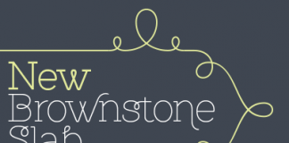 Brownstone Slab Typeface by Sudtipos