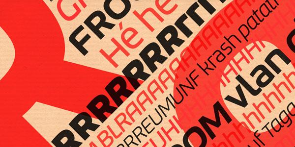 Bruum FY - Sans Serif Typeface by Fontyou