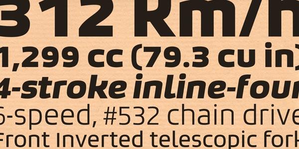 Bruum FY - Sans Typeface by Fontyou